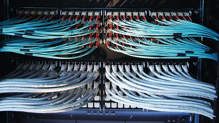 Glasfaserkabel (Bild von R&M)