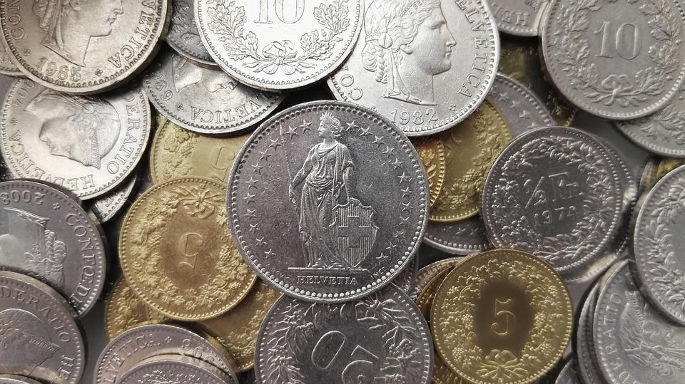 Inkasso: Bild von Schweizer Franken