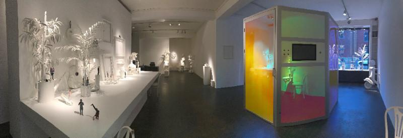Die Szenografie in der TWINSIE Pop-Up-Gallery gestaltete die renommierte Zürcher Raumstylistin Martina Nievergelt.
