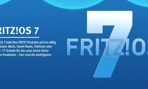 FRITZ!OS 7: ein neues Level für FRITZ! bei Mesh, Telefonie und Smart Home