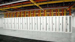 Das Rechenzentrum des Flughafens stattete R&M mit dem Glasfaser-Rangierfeld Netscale aus.