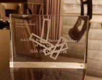 GIA Informatik AG gewinnt Award als Service Provider of the Year DACH und Russland