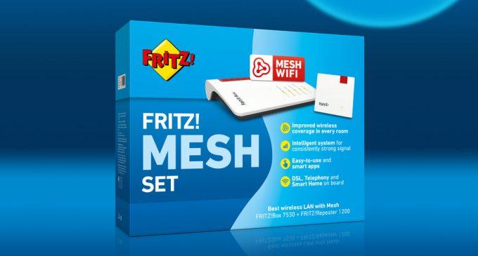 Neu im Handel – FRITZ! Mesh Set – Beste WLAN-Leistung im Doppelpack