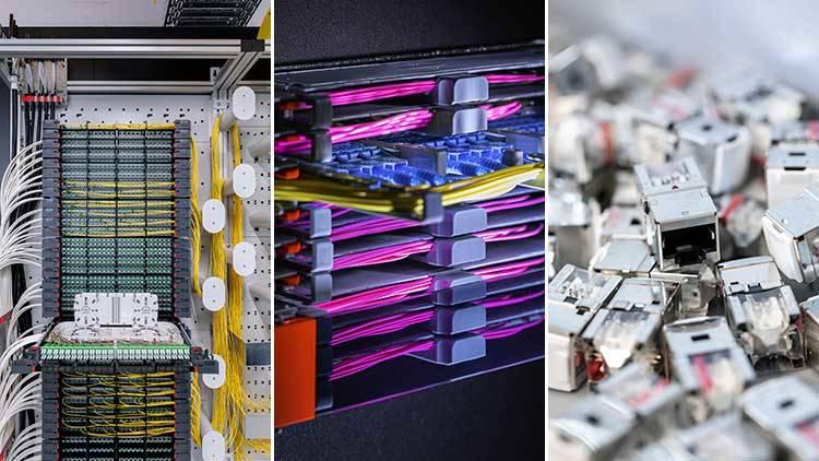 Produkte aus den Geschäftsfeldern Public Networks, Data Center und LAN