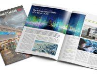 Grundmauern einer Smart City: Glasfaserkabel