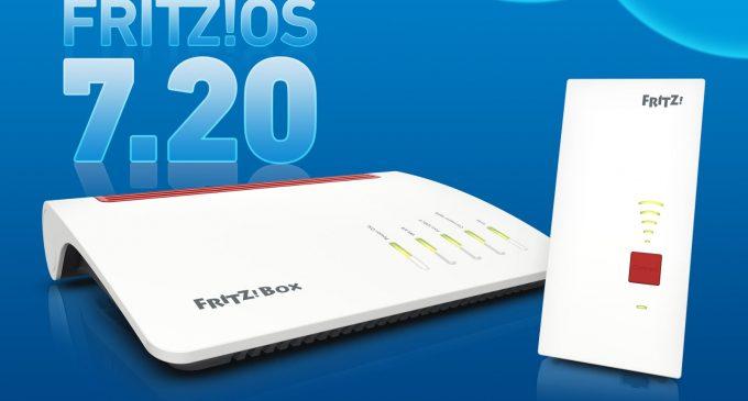 FRITZ!OS 7.20: ab sofort ein FRITZ!-Produkt für alle Märkte mit noch mehr Performance, Komfort und Sicherheit