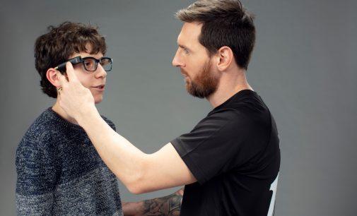 Lionel Messi startet weltweite Kampagne als Botschafter für Blinde mit OrCam