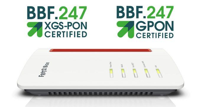 Highspeed-Zukunft mit Glasfaser: Die FRITZ!Box 5530 Fiber