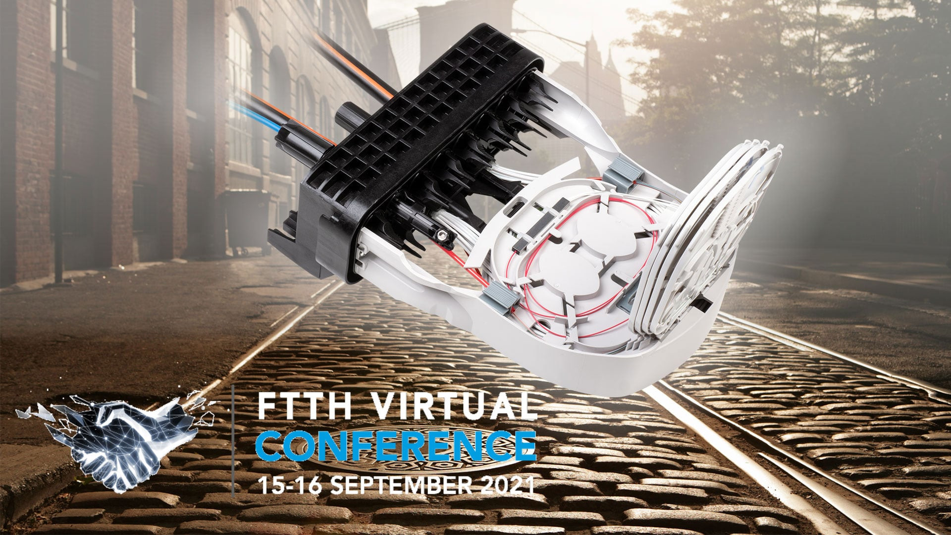 R&M is presenting the ZOONA closure at the FTTH Virtual Conference 2021. Gold sponsor of the world's largest specialist congress for the broadband industry. Expanding the fiber optic network remains the key issue and is more urgent than ever before.